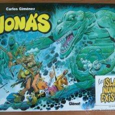 Cómics: JONAS, LA ISLA QUE NUNCA EXISTIO. CARLOS GIMENEZ. GLENAT 2003 TAPA DURA. Lote 51778413