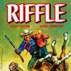 Cómics: RIFFLE DE LÓPEZ ESPÍ Y TOUTAIN (EDT, 2012). NUEVO. TAPA DURA. 192 PGS.. Lote 222590110