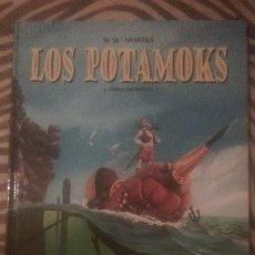 Cómics: LOS POTAMOKS VOLUMEN 1 TERRA INCOGNITA. Lote 52642546
