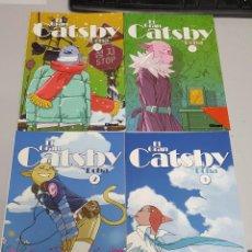 Comics: EL GRAN CATSBY - DOHA ¡ COMPLETA 4 NUMEROS ! GLENAT. Lote 52705650