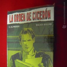 Cómics: LA ORDEN DEL CICERON - COLECCION COMPLETA 2 COMIS - MALKA & GILLON - CARTONE. Lote 52853578