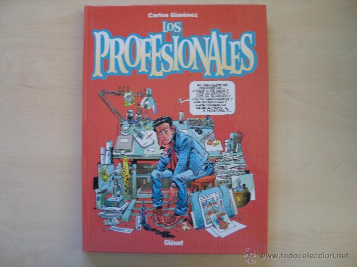 CARLOS GIMENEZ (LOS PROFESIONALES) (Tebeos y Comics - Glénat - Autores Españoles)