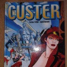 Cómics: CUSTER. CARLOS TRILLO Y JORDI BERNET. INTEGRAL GLENAT. TAPA DURA. Lote 52983300
