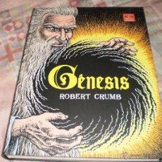 Cómics: GÉNESIS ROBERT CRUMB EDITORIAL LA CÚPULA 2009. Lote 56112340