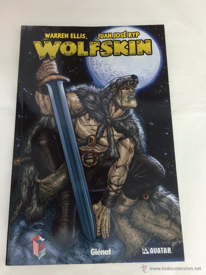 WOLFSKIN - WARREN ELLIS - JUAN JOSÉ RYP - GLÉNAT (Tebeos y Comics - Glénat - Comic USA)