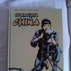 Cómics: TORMENTA SOBRE CHINA -INTEGRAL- TAPA DURA - 32*24 CM. -MIRAR FOTOS-. Lote 53568847