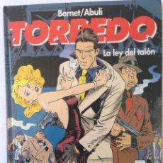 Cómics: TORPEDO - LA LEY DEL TALON. Lote 53848191