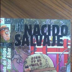 Cómics - NACIDO SALVAJE 1. FERNANDO DE FELIPE. OSCAR AIBAR. GLENAT. BUEN ESTADO - 53948980