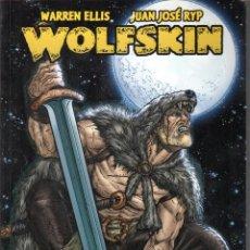 Cómics: WARREN ELLIS. WOLFSKIN. OBRA COMPLETA. GLENAT. 120 PAGINAS. RUSTICA. COLOR.. Lote 111404531