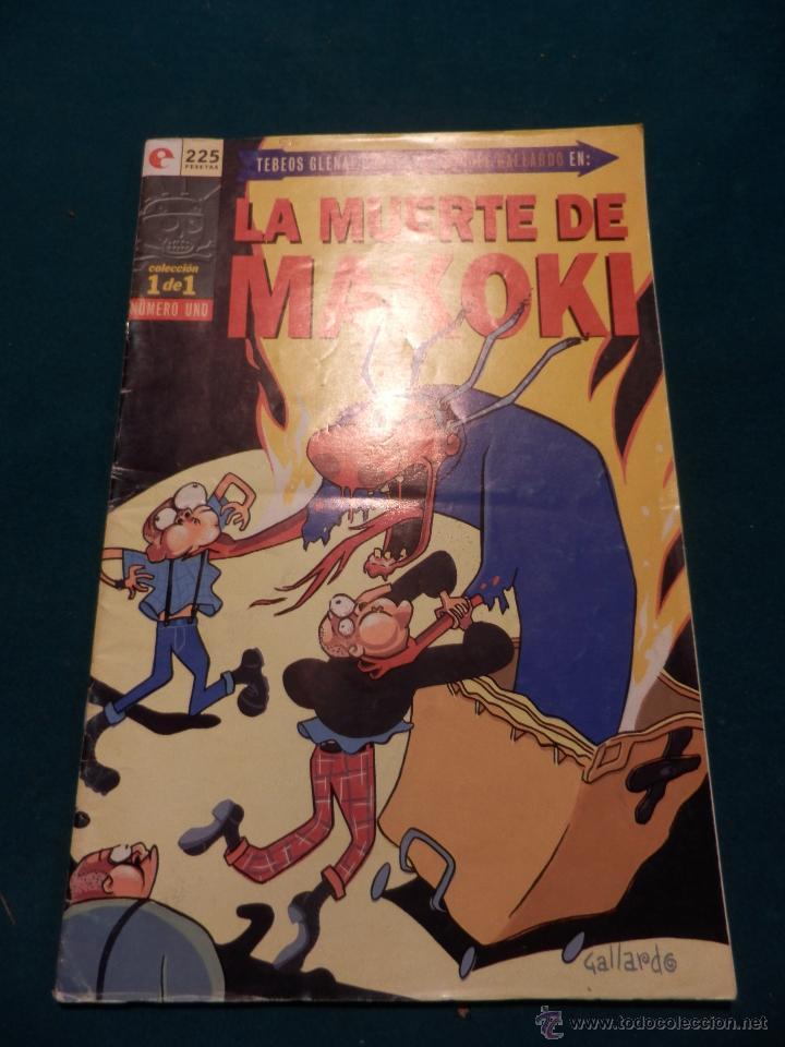LA MUERTE DE MAKOKI - COMIC DE MIGUEL GALLARDO - GLÉNAT 1995 - COLECCIÓN 1 DE 1 (Tebeos y Comics - Glénat - Autores Españoles)