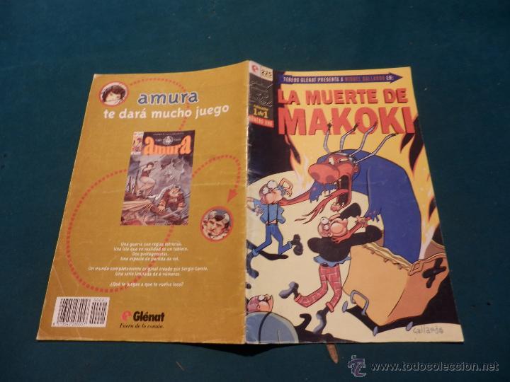 Cómics: LA MUERTE DE MAKOKI - COMIC DE MIGUEL GALLARDO - GLÉNAT 1995 - COLECCIÓN 1 DE 1 - Foto 3 - 54505727