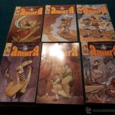 Fumetti: AMURA - COMIC DE SERGIO GARCÍA - GLÉNAT 1995 - COMPLETA 6 DE 6 SERIE LIMITADA. Lote 54505995