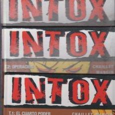 Cómics: INTOX, COMPLETA EN 3 TOMOS / CHAILLET MANGIN -ED. GLENAT. Lote 54557264