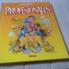Cómics: LOS PROFESIONALES, TOMÓ 1, CARLOS GIMÉNEZ, VER FOTOS.. Lote 54684632