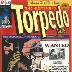 Cómics: TORPEDO 1936, EDICIONES GLÉNAT COMPLETA 30 Nº. Lote 54733400