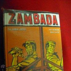 Cómics: ZAMBADA COLECCION COMPLETA 4 COMICS - AUTHEMAN & MALTAITE - CARTOE. Lote 54917250