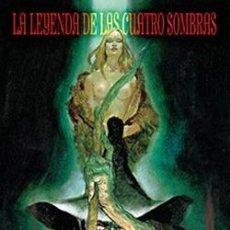 Cómics: LA LEYENDA DE LAS CUATRO SOMBRAS - TRILLO & FERNÁNDEZ - GLÉNAT. Lote 55243642