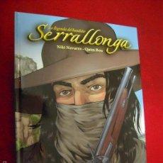 Fumetti: SERRALLONGA - LA LLEGENDA DEL BANDOLER - N. NAVARRO & QUIM BOU - CARTONE - EN CATALAN. Lote 55917626