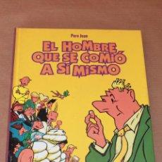Cómics: EL HOMBRE QUE SE COMIÓ A SÍ MISMO - COLECCIÓN INTEGRAL, ED. GLÉNAT, AÑO 1999, CARTONÉ - COMO NUEVO. Lote 55949510