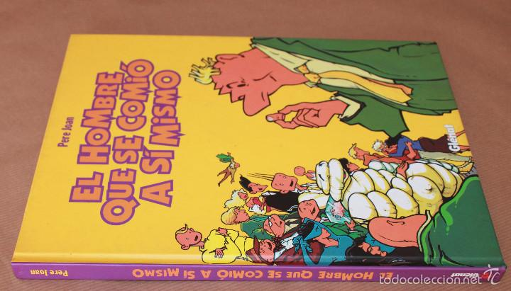 Cómics: EL HOMBRE QUE SE COMIÓ A SÍ MISMO - colección integral, ED. GLÉNAT, año 1999, cartoné - como nuevo - Foto 2 - 55949510