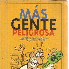 Cómics: MÁS GENTE PELIGROSA. VÁZQUEZ. EDICIONES GLENAT. BARCELONA. 1994. Lote 56733885
