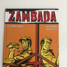 Cómics: ZAMBADA (TOMO 4): DOBLE JUEGO - AUTHEMAN, MALTAITE - COLECCIÓN VIÑETAS NEGRAS - GLÉNAT. Lote 57252924