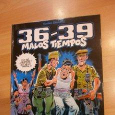 Cómics: 36-39, MALOS TIEMPOS. TOMO 1, DE CARLOS GIMÉNEZ. Lote 57533627