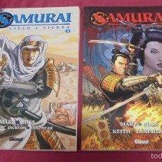 Cómics: SAMURAI. CIELO Y TIERRA. COLECCION COMPLETA. TOMO 1 Y 2. EDICIONES GLÉNAT.. Lote 57724039