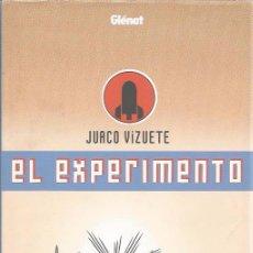Cómics: EL EXPERIMENTO - JUACO VIZUETE - GLENAT - TAPA DURA - COMO NUEVO. Lote 57819010