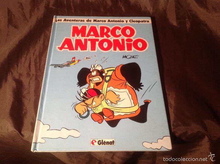 LAS AVENTURAS DE MARCO ANTONIO Y CLEOPATRA GLÉNAT 1993 (Tebeos y Comics - Glénat - Autores Españoles)