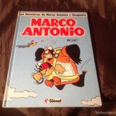 Cómics: LAS AVENTURAS DE MARCO ANTONIO Y CLEOPATRA GLÉNAT 1993. Lote 57876573