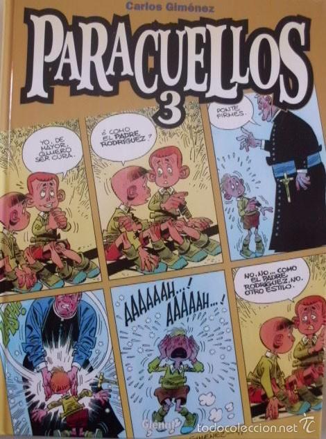 TOMO PARACUELLOS 3 CARLOS GIMENEZ TAPA CARTON (Tebeos y Comics - Glénat - Autores Españoles)