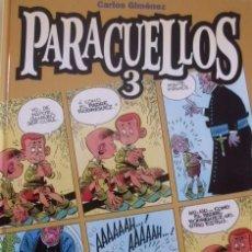 Cómics: TOMO PARACUELLOS 3 CARLOS GIMENEZ TAPA CARTON. Lote 57958986