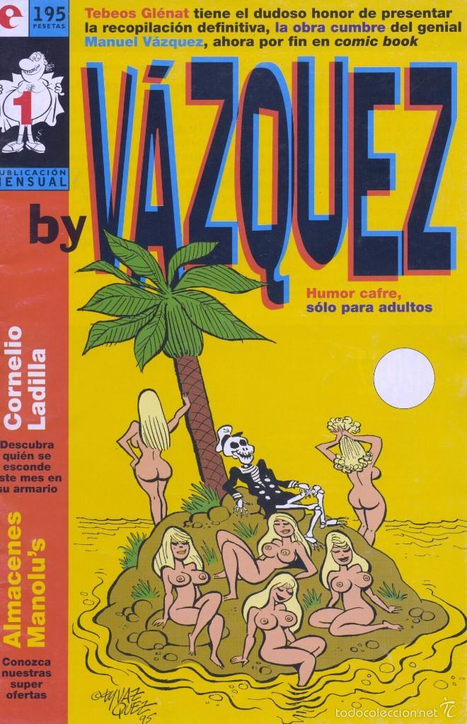 BY VÁZQUEZ Nº1. EDICIONES GLÉNAT, 1995 (Tebeos y Comics - Glénat - Autores Españoles)