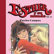 Cómics: ESTHER Y SU MUNDO Nº 17, DE PURITA CAMPOS (GLÉNAT, 2011) FIN DE LA 1ª PARTE. Lote 98248332