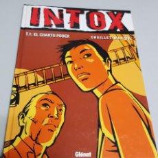 Cómics: INTOX 1 - EL CUARTO PODER ¡NOVELA GRAFICA 48 PAGINAS! CHAILLET - MANGIN / GLENAT. Lote 60768459
