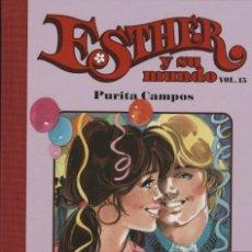 Cómics: ESTHER Y SU MUNDO Nº 15, DE PURITA CAMPOS (GLÉNAT, 2010) NUEVO. Lote 98248340