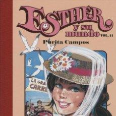 Cómics: ESTHER Y SU MUNDO Nº 11, DE PURITA CAMPOS (GLÉNAT, 2010) NUEVO. Lote 98248394
