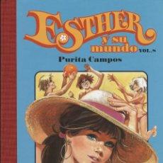 Cómics: ESTHER Y SU MUNDO Nº 8, DE PURITA CAMPOS (GLÉNAT, 2010) NUEVO. Lote 98248363