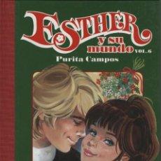 Cómics: ESTHER Y SU MUNDO Nº 6, DE PURITA CAMPOS (GLÉNAT, 2009) NUEVO. Lote 109555422