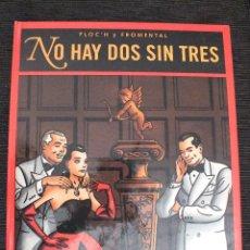 Cómics: NO HAY DOS SIN TRES - FLOC'H Y FROMENTAL - 1994 GLENAT - TAPA DURA. Lote 166146772
