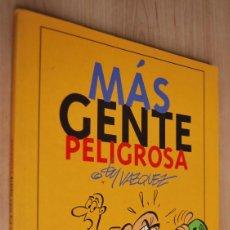 Cómics: MÁS GENTE PELIGROSA - BY VÁZQUEZ - EDICIONES GLENAT - 1993. Lote 62172456