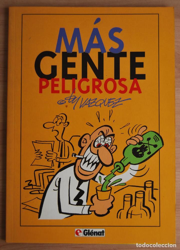 Cómics: MÁS GENTE PELIGROSA - BY VÁZQUEZ - EDICIONES GLENAT - 1993 - Foto 2 - 62172456