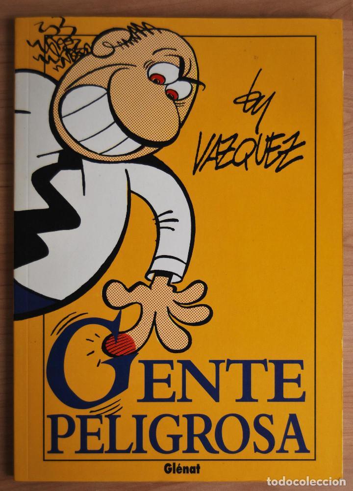 Cómics: GENTE PELIGROSA - BY VÁZQUEZ EDICIONES GLENAT - 1993 - Foto 2 - 62172772