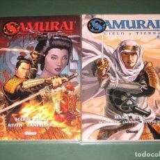 Cómics: SAMURAI CIELO Y TIERRA # 1 Y 2 COMPLETA (GLÉNAT). Lote 63407348