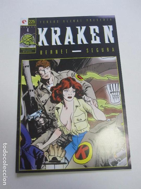 KRAKEN Nº 4 DE BERNET Y SEGURA GLENAT E2 (Tebeos y Comics - Glénat - Autores Españoles)