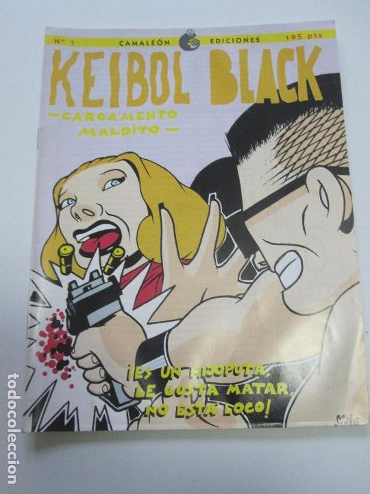 KEIBOL BLACK - CARGAMENTO MALDITO Nº 1 CAMALEON EDICIONES E2 (Tebeos y Comics - Glénat - Autores Españoles)