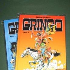 Cómics: GRINGO # 1 Y 2 COMPLETA (GLÉNAT) (CARLOS GIMÉNEZ) . Lote 64036475