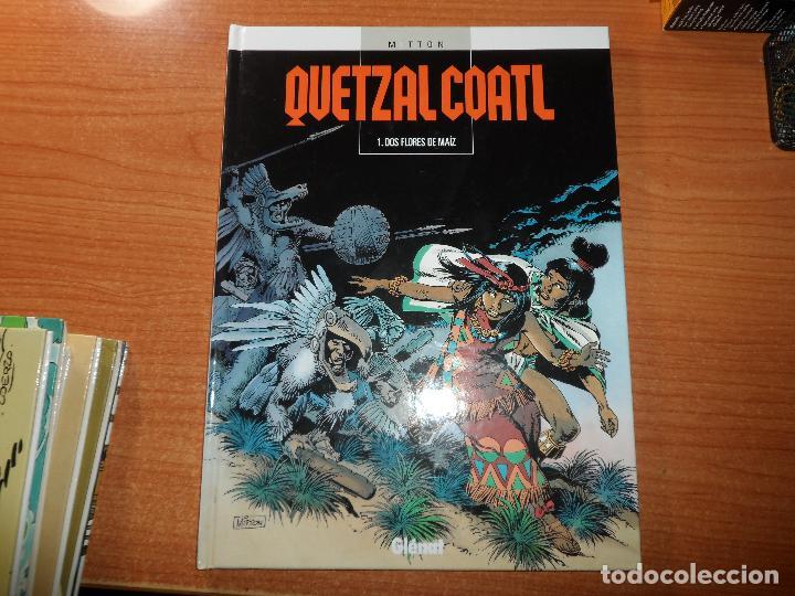 QUETZALCOATL Nº 1 GLENAT TAPA DURA (Tebeos y Comics - Glénat - Comic USA)