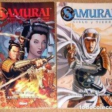 Cómics: SAMURÁI CIELO Y TIERRA 2 TOMOS. GLENAT. Lote 68012357